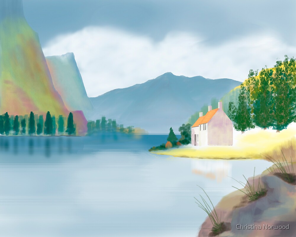 Cottage by the Lake by Christina Norwood