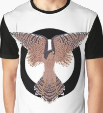 Hawk Circle Graphic T-Shirt
