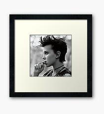 Millie Bobby Brown - Aesthetic Framed Print