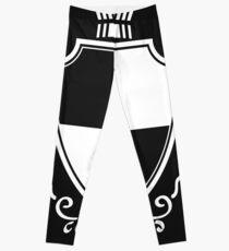 royal crown shield Leggings