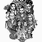 «Héroes de Storybrooke» de tonksiford