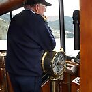 At the Helm by sailgirl