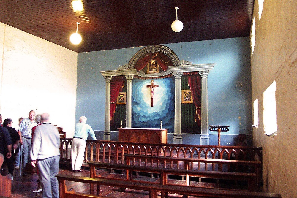 Fremantle Prison Chapel by georgieboy98