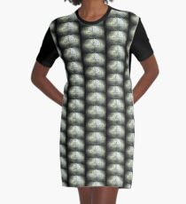 Please Stand By Graphic T-Shirt Dress