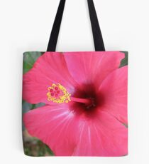 Red Cannon Firing Tote Bag