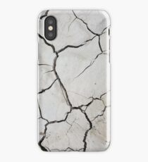 Dried Mud iPhone Case