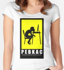 PEBKAC Women's Fitted Scoop T-Shirt