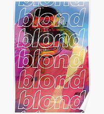Frank Ocean - Blonded (Warm) Poster