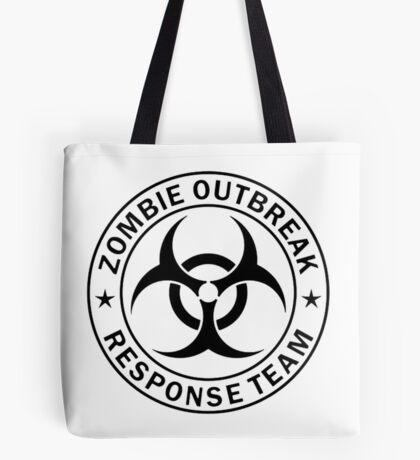 ZOMBIE RESPONSE TEAM  Tote Bag
