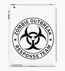 ZOMBIE RESPONSE TEAM  iPad Case/Skin