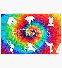 Misterwives tie dye Merch! Poster