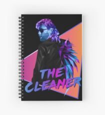 Kenny Omega. The Cleaner. Polygonal Spiral Notebook
