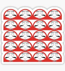 Daruma Tee - Multitasking Simple Sticker