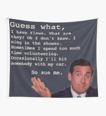Michael Scott Quotes Tapestry