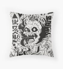 Grimes Doodles Throw Pillow