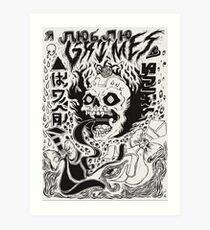 Grimes Doodles Art Print