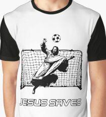 Jesus Saves Graphic T-Shirt