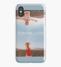 Mr Finish Line iPhone Case/Skin