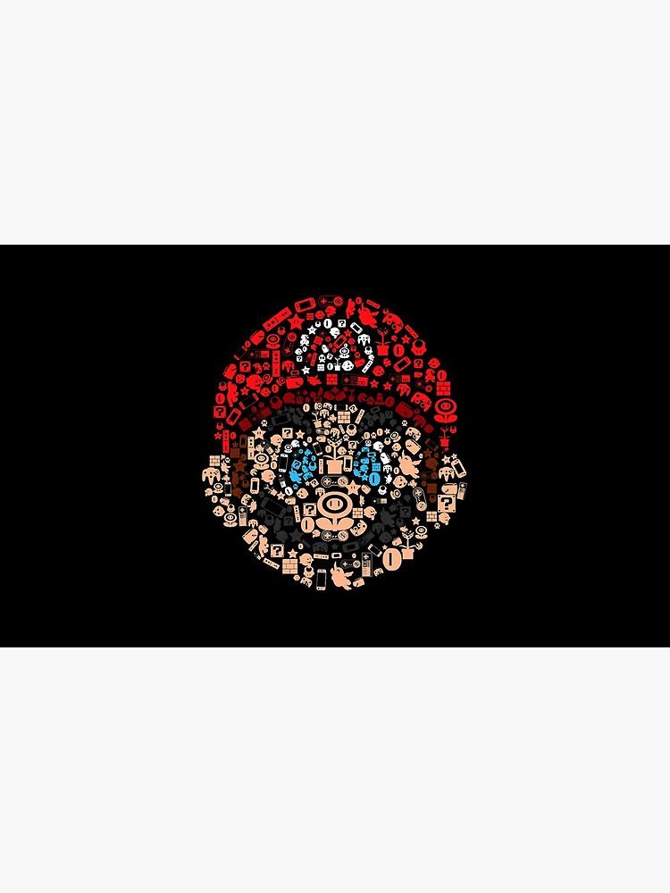 Mario Collage von DROLO