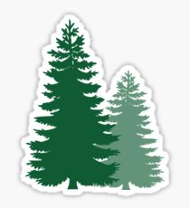 The Forest.  Sticker