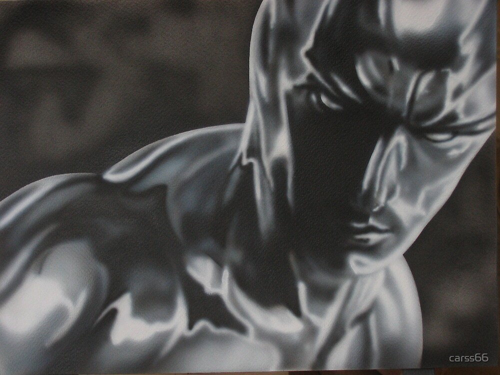 silver surfer portrate by carss66