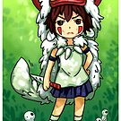 princess mononoke  by michelledraws