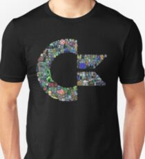 commodore - sesame, olive. The nudge of your tongue T-Shirt