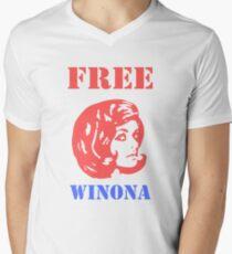 Free Winona Men's V-Neck T-Shirt