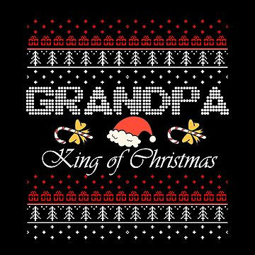 Ugly Christmas Sweater Grandpa by LisaLiza