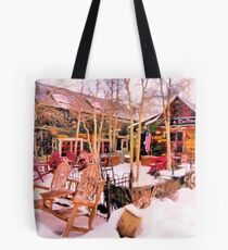 Camp 4 Coffee - Crested Butte, CO Tote Bag