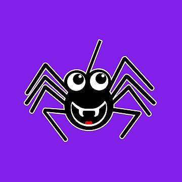 Smiling Spider by blakcirclegirl