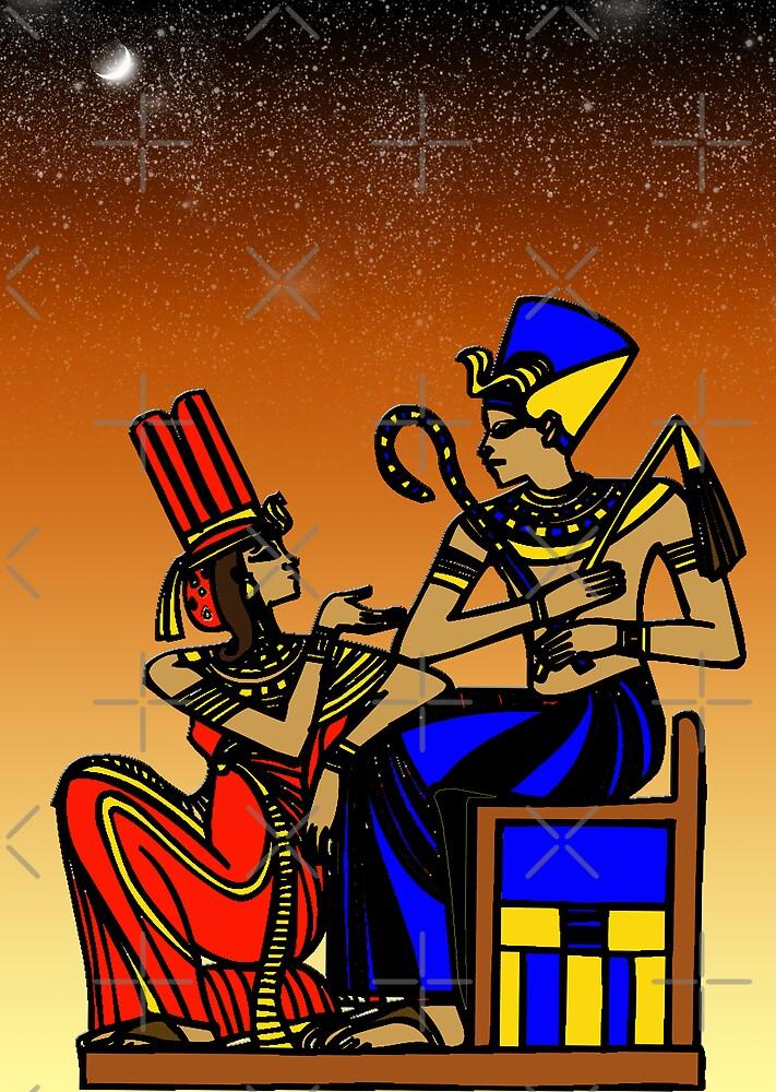 Egyptian Art by Brandi Alshahin