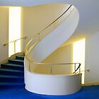 Spiral Staircase Berlin by Angelika  Vogel