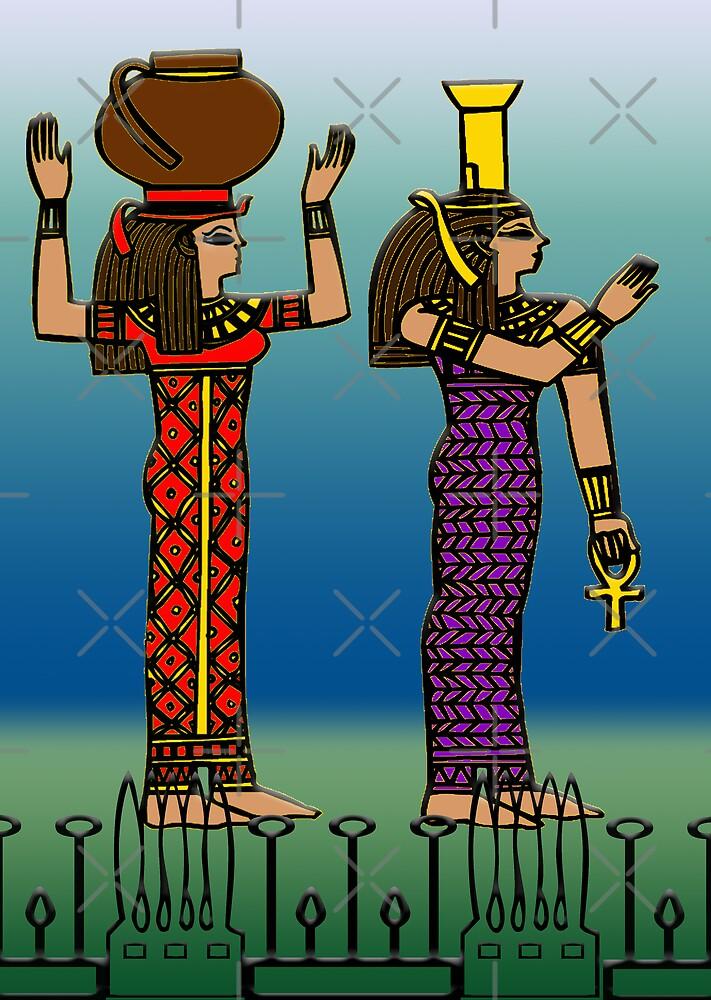 Egyptian Art 2 by Brandi Alshahin