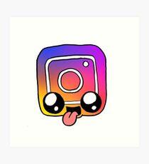 Instagram Kunstdruck