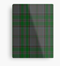 00366 Wicklow County District Tartan  Metal Print