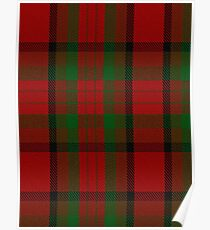 00356 Tipperary County District Tartan  Poster