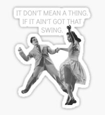 Swing Thing! Sticker