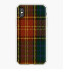 00352 Roscommon County District Tartan  iPhone Case
