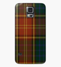 00352 Roscommon County District Tartan  Case/Skin for Samsung Galaxy