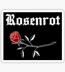 Rosenrot - White Sticker
