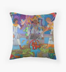 Two of Brotherly Love Throw Pillow