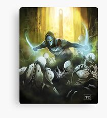 Lightning blades Canvas Print