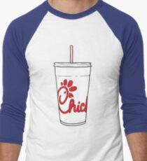 chick fil a cup Men's Baseball ¾ T-Shirt
