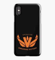 Operation Enduring Victory iPhone Case/Skin