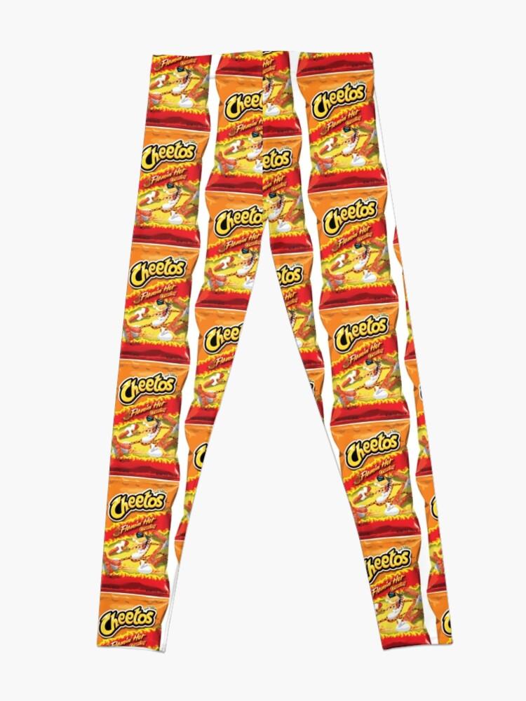 Alternate view of hot cheetos Leggings