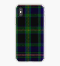 00349 Ofally County District Tartan iPhone Case