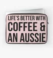 Coffee and an Aussie Laptop Sleeve