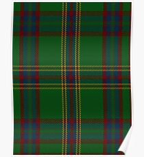 00344 Westmeath District Tartan  Poster