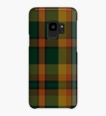 00336 Londonderry County District Tartan  Case/Skin for Samsung Galaxy